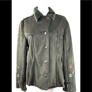 Outback Trading Company Warm Embroidered Jacket